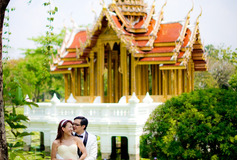 Preview: Pre-Wedding session at Rama IX Park Bangkok Thailand