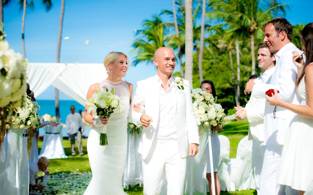 Photo of the Day: Banyan Tree Koh Samui Wedding