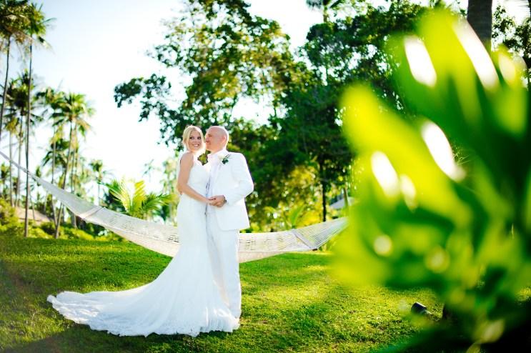 Samui, Thailand - Destination wedding at Banyan Tree on Koh Samui in Thailand.