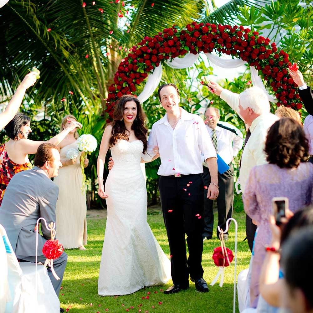 Testimonial - Natasha & Rick - Wedding couple from Australia