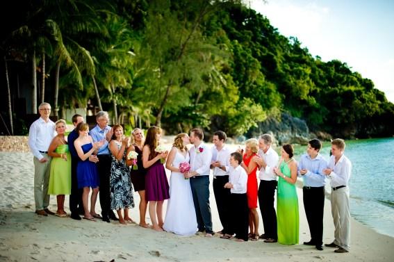 Samui, Thailand - Destination wedding at Villa Baan Rattana Thep on Koh Samui in Thailand.