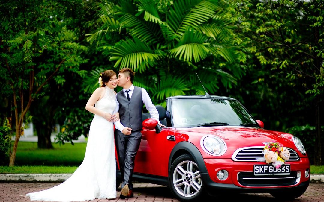 Singapore Wedding: Priscilla & Martin