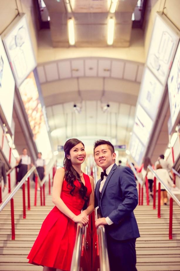 Cherlyn and Ben's BTS Siam pre-wedding (prenuptial, engagement session) in Bangkok, Thailand. BTS Siam_Bangkok_wedding_photographer__1285.TIF