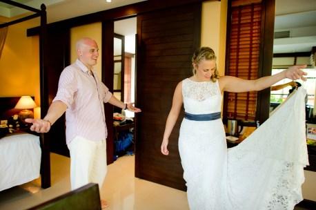 Madeline and Matthew's Bo Phut Resort & Spa Vow Renewal in Samui, Thailand. Bo Phut Resort & Spa_Samui_wedding_photographer_Madeline and Matthew_0409.TIF