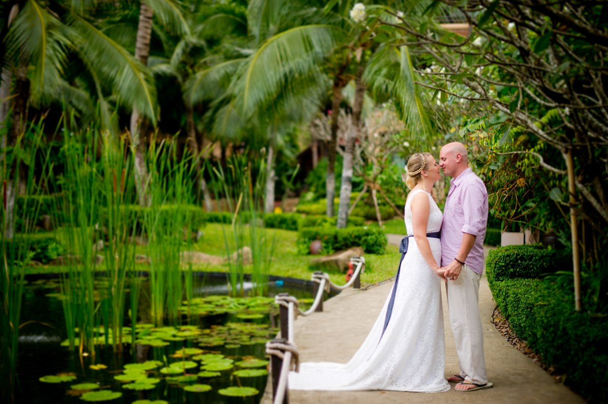 Madeline and Matthew's Vow Renewal (Wedding) at Bo Phut Resort & Spa Koh Samui