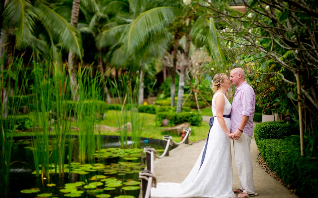 Madeline and Matthew's Vow Renewal (Wedding) at Bo Phut Resort & Spa Koh Samui