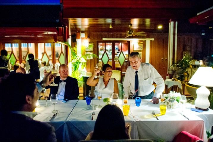 Linda and Tor's Cafe des Amis Restaurant wedding in Pattaya, Thailand. Cafe des Amis Restaurant_Pattaya_wedding_photographer_Linda and Tor_1734.TIF