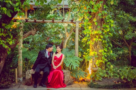 Karen and Billy's Khum Phaya Resort and Spa Centara Boutique Collection pre-wedding (prenuptial, engagement session) in Chiang Mai, Thailand. Khum Phaya Resort and Spa Centara Boutique Collection_Chiang Mai_wedding_photographer_Karen and Billy_2236.TIF