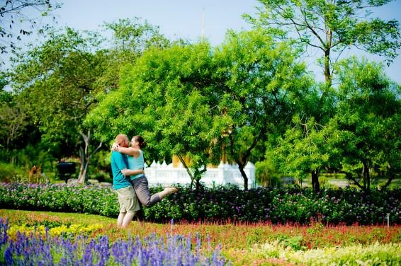 Bangkok Pre-Wedding | King Rama IX Park Pre-Wedding