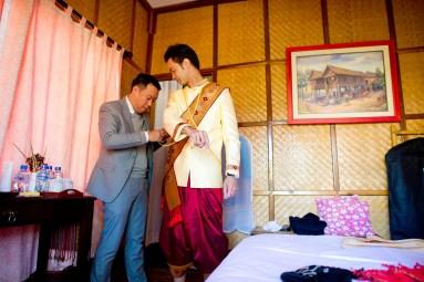Ayano and Thavisouk's Sinouk Coffee Resort wedding in Bolaven Plateau - Champasak Province, Thailand. Sinouk Coffee Resort_Bolaven Plateau - Champasak Province_wedding_photographer_Ayano and Thavisouk_1058.TIF