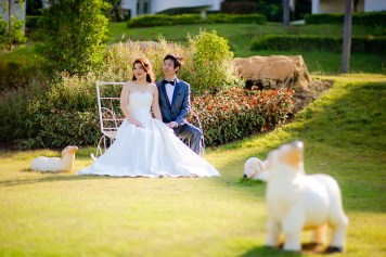 Yuen and Chan's The Buda Muaklek Resort pre-wedding (prenuptial, engagement session) in Saraburi, Thailand. The Buda Muaklek Resort_Saraburi_wedding_photographer_Yuen and Chan_1986.TIF