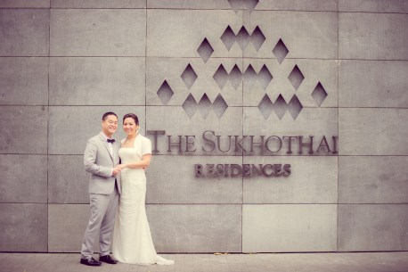 Sudrutai and Jason's The Sukhothai Bangkok wedding in Bangkok, Thailand. The Sukhothai Bangkok_Bangkok_wedding_photographer_Sudrutai and Jason_2102.TIF
