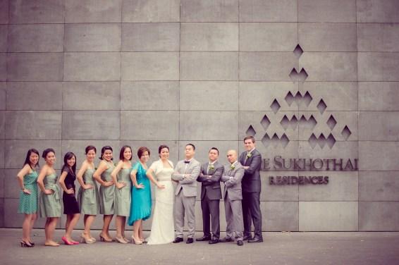Sudrutai and Jason's The Sukhothai Bangkok wedding in Bangkok, Thailand. The Sukhothai Bangkok_Bangkok_wedding_photographer_Sudrutai and Jason_2103.TIF