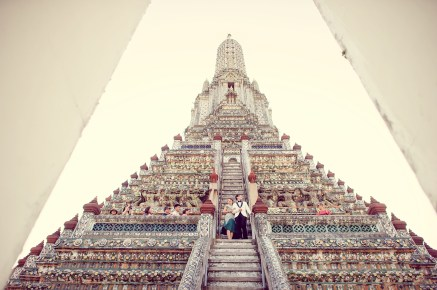 Loh and Jason's Wat Arun pre-wedding (prenuptial, engagement session) in Bangkok, Thailand. Wat Arun_Bangkok_wedding_photographer_Loh and Jason_1814.TIF