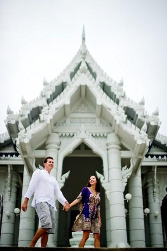 Tarinee and Dyson's Wat Kaew Korawaram pre-wedding (prenuptial, engagement session) in Krabi, Thailand. Wat Kaew Korawaram_Krabi_wedding_photographer_Tarinee and Dyson_1846.TIF