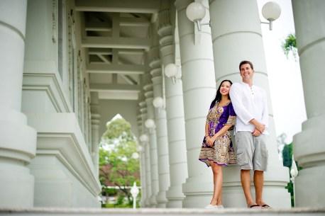Tarinee and Dyson's Wat Kaew Korawaram pre-wedding (prenuptial, engagement session) in Krabi, Thailand. Wat Kaew Korawaram_Krabi_wedding_photographer_Tarinee and Dyson_1851.TIF