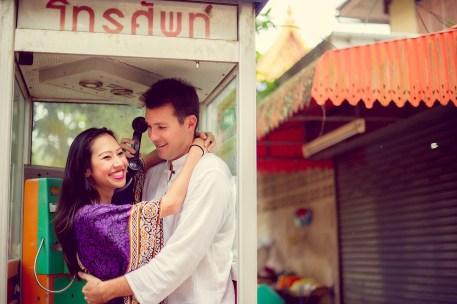 Tarinee and Dyson's Wat Kaew Korawaram pre-wedding (prenuptial, engagement session) in Krabi, Thailand. Wat Kaew Korawaram_Krabi_wedding_photographer_Tarinee and Dyson_1857.TIF