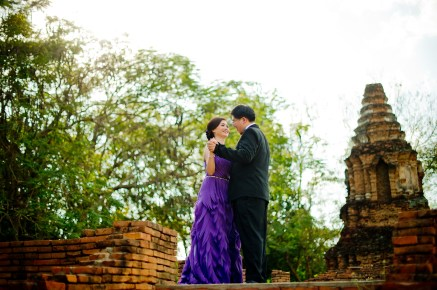 Karen and Billy's Wiang Kum Kam pre-wedding (prenuptial, engagement session) in Chiang Mai, Thailand. Wiang Kum Kam_Chiang Mai_wedding_photographer_Karen and Billy_2226.TIF