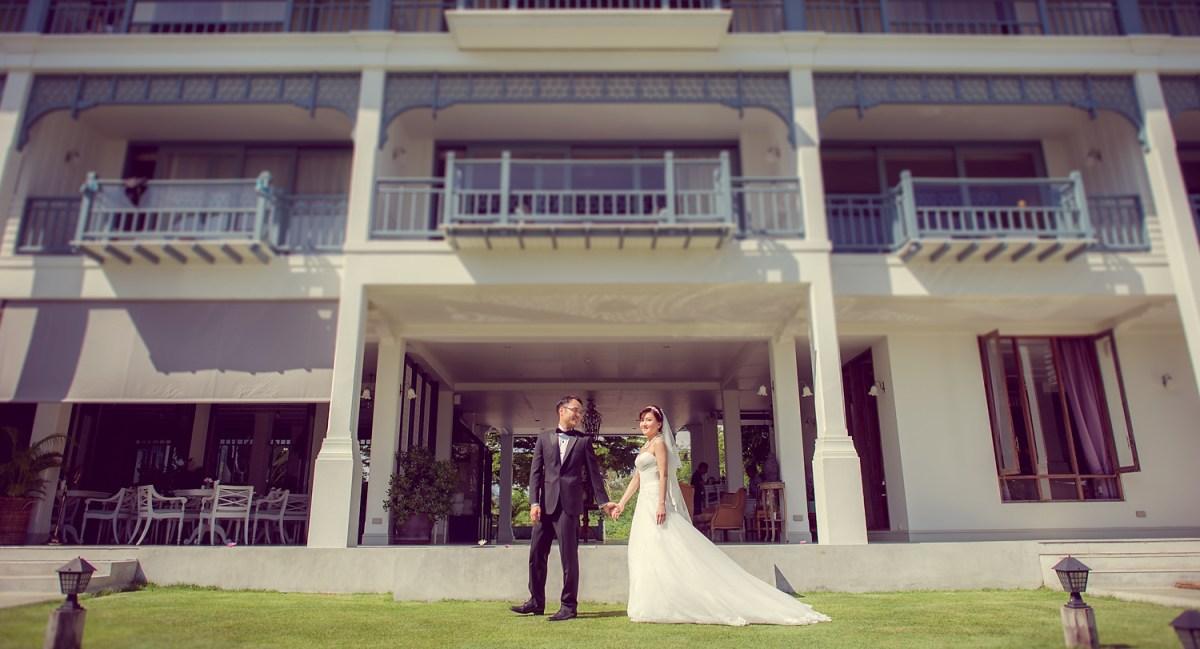 Pre-Wedding Hua Hin: Devasom Hua Hin Resort and Hua Hin Beach