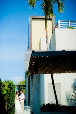 Hua Hin, Thailand - Pre-Wedding (Engagement) photos taken at Let's Sea Hua Hin Al Fresco Resort in Thailand.