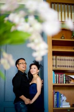 Hua Hin, Thailand - Pre-Wedding (Engagement) photo taken at Devasom Hua Hin Resort in Thailand.