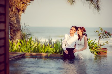 Hua Hin, Thailand - Pre-Wedding (Engagement) photo taken Aleenta Hua Hin Resort & Spa in Thailand.