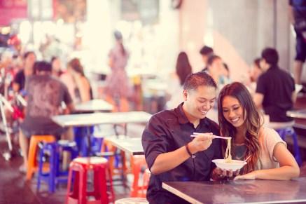 Astrid and Daniel's China Town pre-wedding (prenuptial, engagement session) in Bangkok, Thailand. China Town_Bangkok_wedding_photographer_Astrid and Daniel_08.TIF