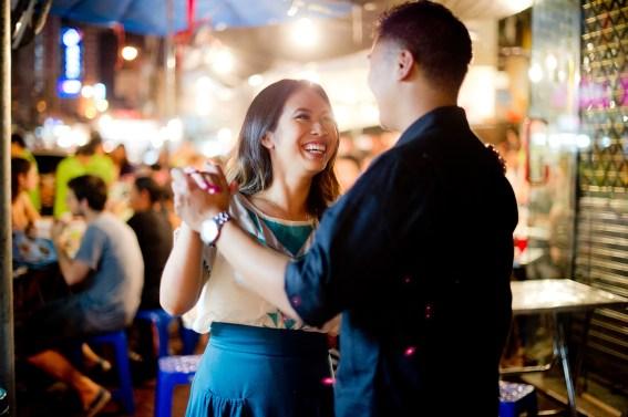 Astrid and Daniel's China Town pre-wedding (prenuptial, engagement session) in Bangkok, Thailand. China Town_Bangkok_wedding_photographer_Astrid and Daniel_12.TIF