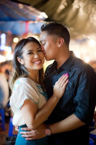Astrid and Daniel's China Town pre-wedding (prenuptial, engagement session) in Bangkok, Thailand. China Town_Bangkok_wedding_photographer_Astrid and Daniel_13.TIF
