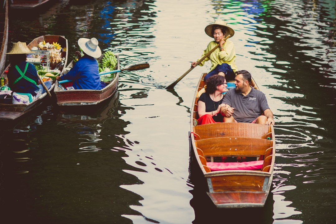 Damnoen Saduak Floating Market Pre-Wedding - 40