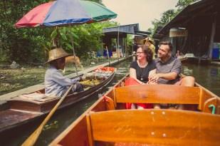 Nina and Michael's Damnoen Saduak Floating Market pre-wedding (prenuptial, engagement session) in Ratchaburi, Thailand. Damnoen Saduak Floating Market_Ratchaburi_wedding_photographer__08.TIF