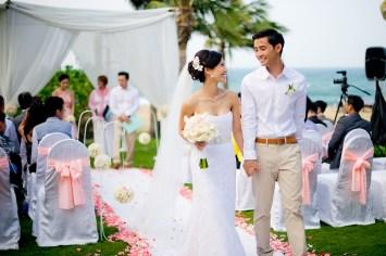 Berry and Tan's InterContinental Danang Sun Peninsula Resort wedding in Danang City, Thailand. InterContinental Danang Sun Peninsula Resort_Danang City_wedding_photographer_Berry and Tan_061.TIF