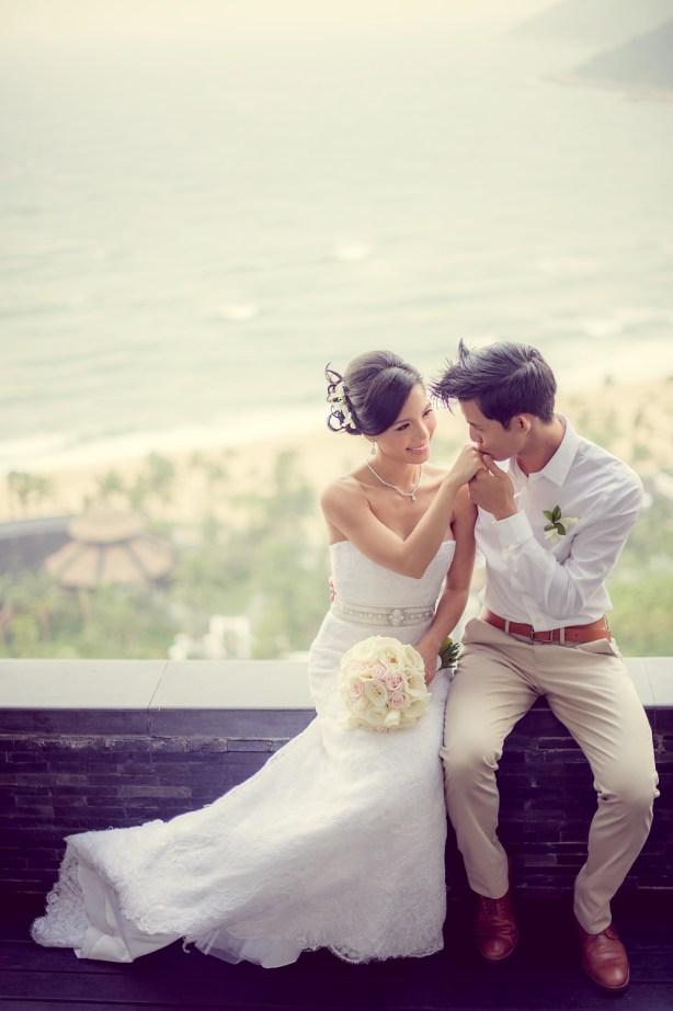 Berry and Tan's InterContinental Danang Sun Peninsula Resort wedding in Danang City, Thailand. InterContinental Danang Sun Peninsula Resort_Danang City_wedding_photographer_Berry and Tan_070.TIF