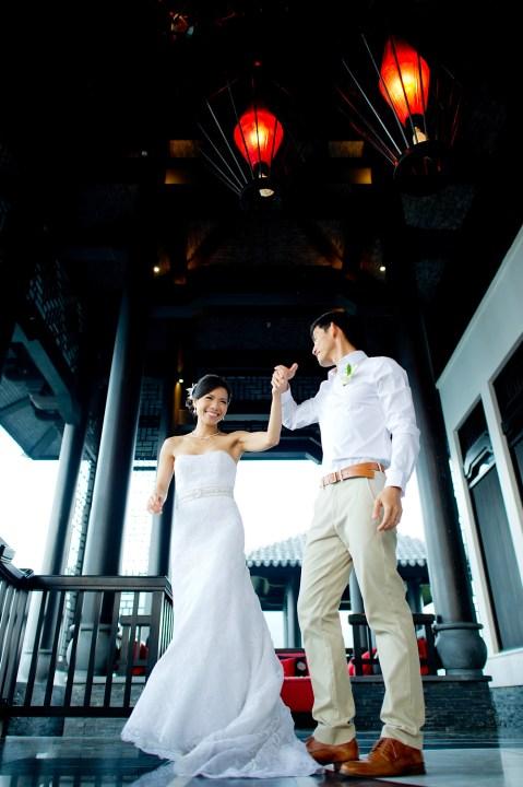 Berry and Tan's InterContinental Danang Sun Peninsula Resort wedding in Danang City, Thailand. InterContinental Danang Sun Peninsula Resort_Danang City_wedding_photographer_Berry and Tan_073.TIF