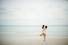 Rachel and Michael's Kata Beach pre-wedding (prenuptial, engagement session) in Phuket, Thailand. Kata Beach_Phuket_wedding_photographer_Rachel and Michael_60.TIF