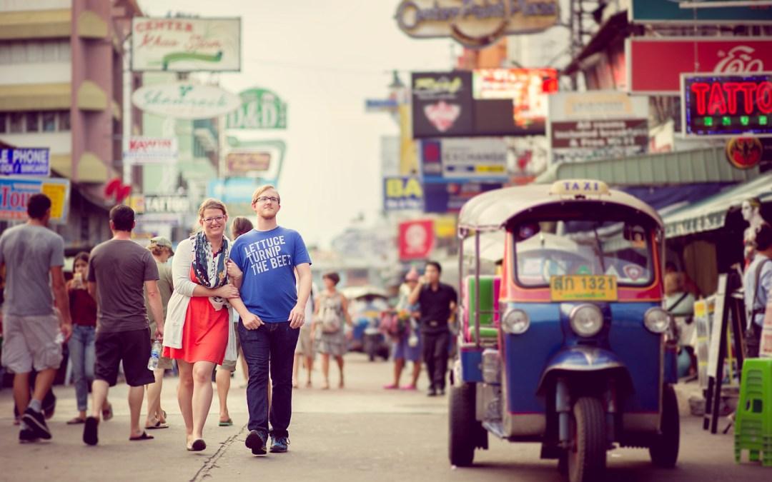 Bangkok Engagement Session: Candace and Nick