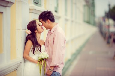 Moon and Chau's Ministry of Defence pre-wedding (prenuptial, engagement session) in Bangkok, Thailand. Ministry of Defence_Bangkok_wedding_photographer_Moon and Chau_112.TIF
