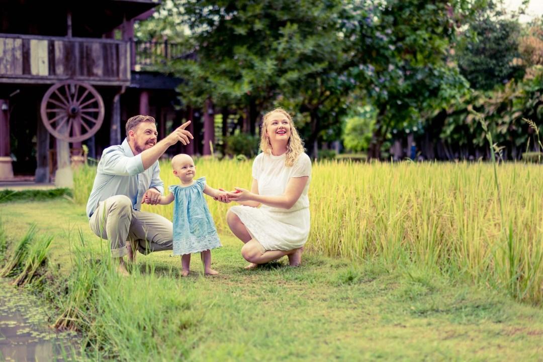 Family Session at Siripanna Villa Resort & Spa Chiang Mai Thailand