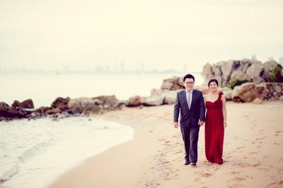 Pattaya Beach Pre-Wedding - 25
