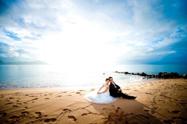 Pattaya Beach Pre-Wedding - 28