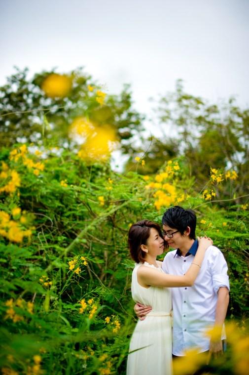Amy and Kong's Rod Fai Park pre-wedding (prenuptial, engagement session) in Bangkok, Thailand. Rod Fai Park_Bangkok_wedding_photographer_Amy and Kong_155.TIF