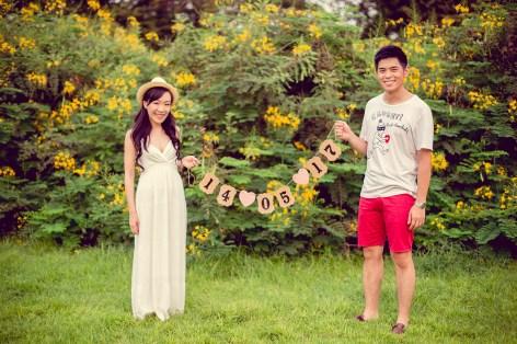 Stephanie and Kelvin's Rod Fai Park pre-wedding (prenuptial, engagement session) in Bangkok, Thailand. Rod Fai Park_Bangkok_wedding_photographer_Stephanie and Kelvin_18.JPG
