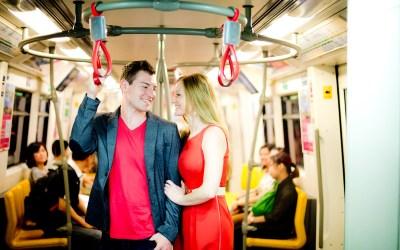 Thailand Bangkok Engagement Session: Candice & Troy