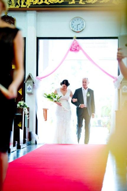 Gemma and Kevin's St. Nikolaus Church Pattaya wedding in Pattaya, Thailand. St. Nikolaus Church Pattaya_Pattaya_wedding_photographer_Gemma and Kevin_07.TIF