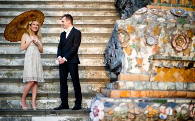 Bangkok Engagement Session: Anna and Kamil from Poland
