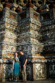 Kristine and Kent's Wat Arun pre-wedding (prenuptial, engagement session) in Bangkok, Thailand. Wat Arun_Bangkok_wedding_photographer_Kristine and Kent_243.TIF