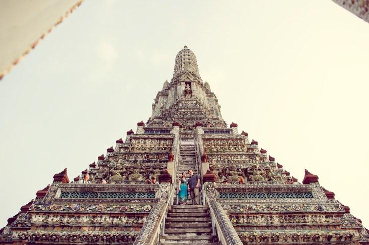 Kristine and Kent's Wat Arun pre-wedding (prenuptial, engagement session) in Bangkok, Thailand. Wat Arun_Bangkok_wedding_photographer_Kristine and Kent_249.TIF
