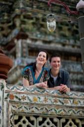 Kristine and Kent's Wat Arun pre-wedding (prenuptial, engagement session) in Bangkok, Thailand. Wat Arun_Bangkok_wedding_photographer_Kristine and Kent_251.TIF