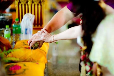 A and M's Wat Huay Yai wedding in Pattaya, Thailand. Wat Huay Yai_Pattaya_wedding_photographer_A and M_4.TIF