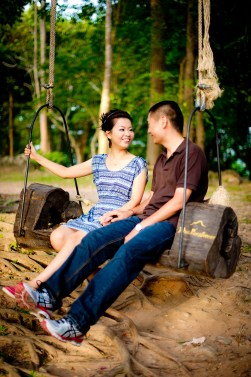 Xiaofen and Eric's Rang Hill Viewpoint pre wedding (prenuptial, engagement session) in Phuket, Thailand. Rang Hill Viewpoint_Phuket_wedding_photographer_Xiaofen and Eric_35.JPG